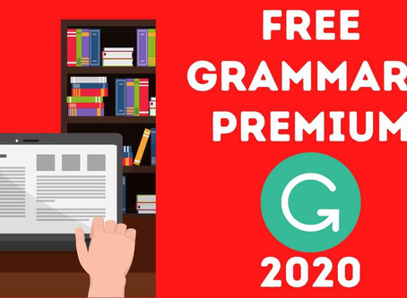 Free Grammarly Premium Accounts October 2020 [100% Working]