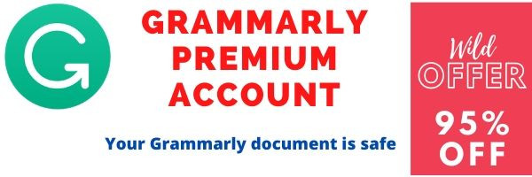 buy grammarly premium account with warranty