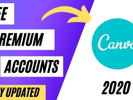 Free Canva Pro Premium Accounts January 2021 [100% Working Today]