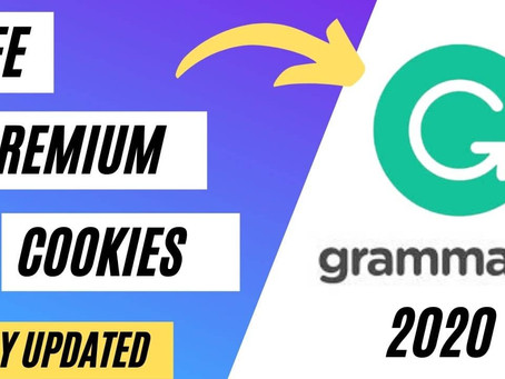 Free Grammarly Premium Account Cookies January 2021 [100% Working Today]