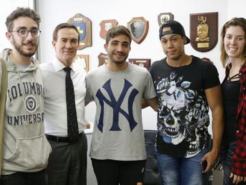Universitários da ESPM visitam gabinete do deputado