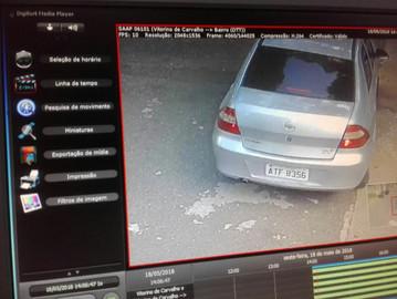 Carro utilizado para assaltos no Alto de Pinheiros é localizado pela Vizinhança Solidária