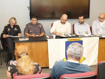 Palestra sobre Vizinhança Solidária no Conseg Jardins e Paulista