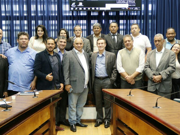 Líderes evangélicos se reúnem com deputado Coronel Camilo