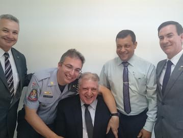 Coronel Camilo participa de solenidade em comemoração ao dia do Policial com Deficiência