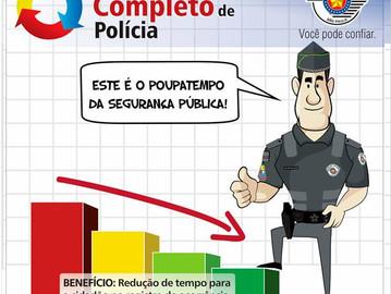 Ciclo completo de polícia: quem ganha é o cidadão