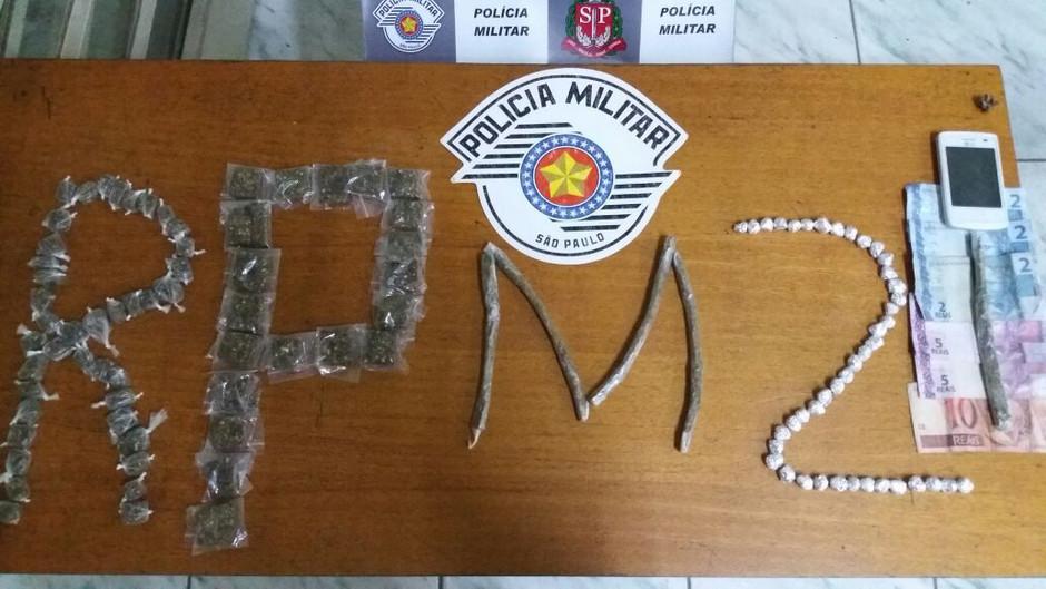Programa Vizinhança Solidária da PM prende dois com drogas em São João Novo