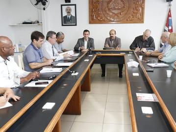 Deputado se reúne com diretoria da Associação de Subtenentes e Sargentos