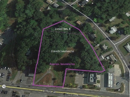 FOR SALE ~ 2.2 Acres, Prime Undeveloped Land, Route 12, Leominster