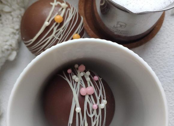 Чудо какао с маршмелоу, 1 шар