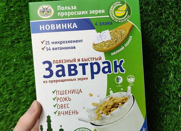 Быстрый завтрак из пророщенного зерна, 350г