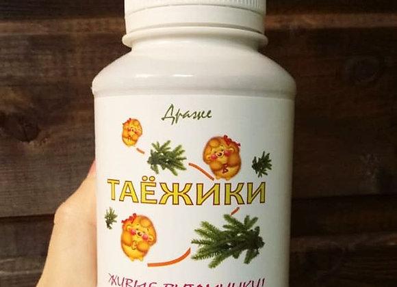 Таёжики живые витамины,140 г(350 драже)