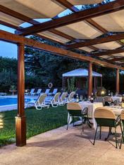 ristorante e piscina