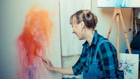 Expressing through Colour