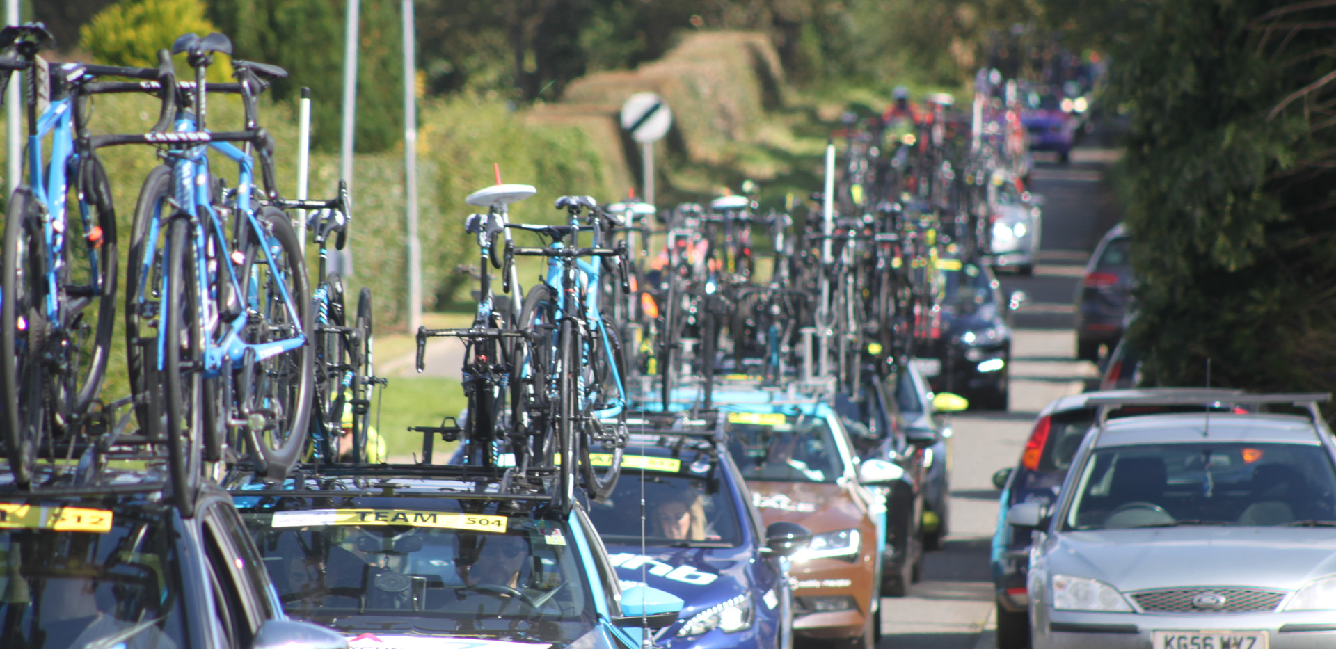 The Tour of Britain, September 2019