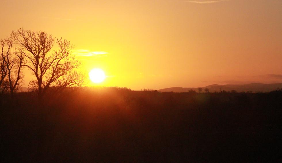 Another beautiful Berwickshire sunrise