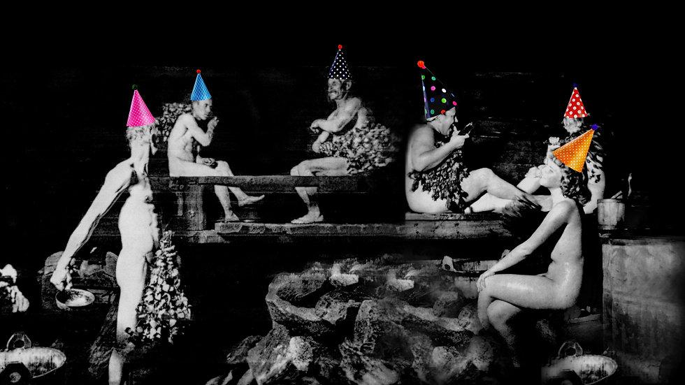 OUTDOOR ART HAPPENING: SAUNA PARTY || 24.07.21