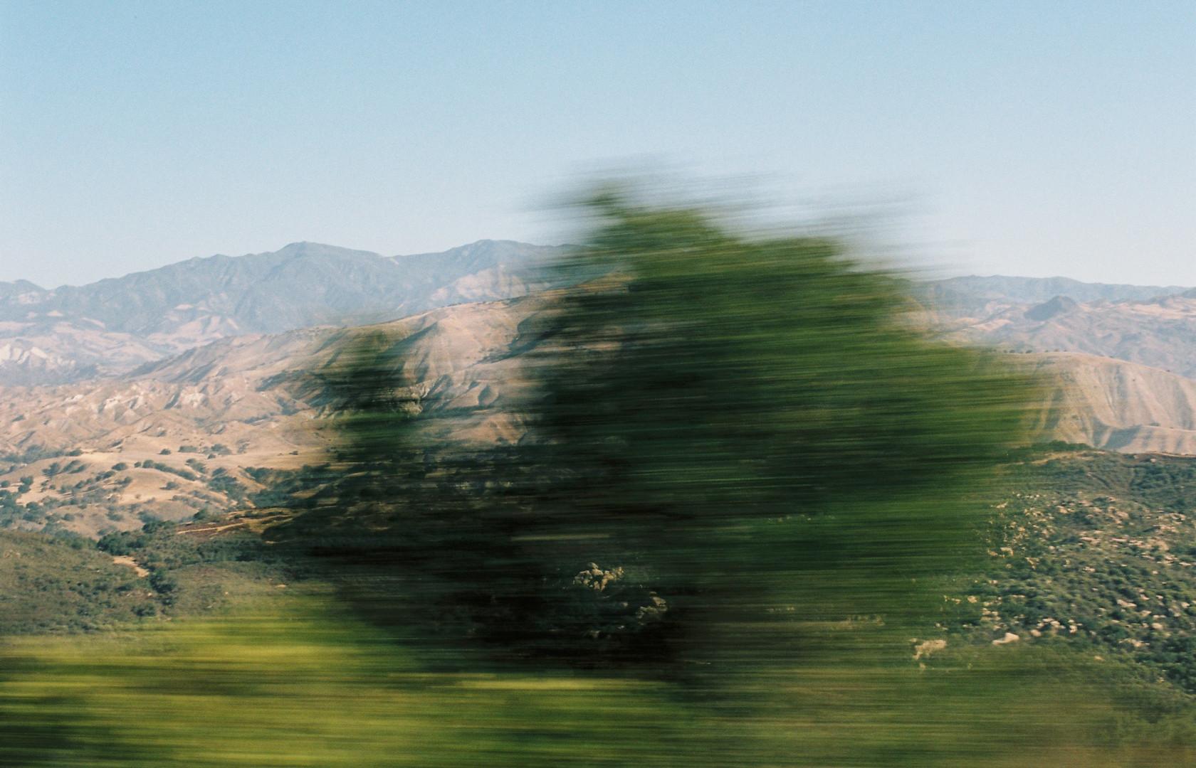 Blurry Road Trip