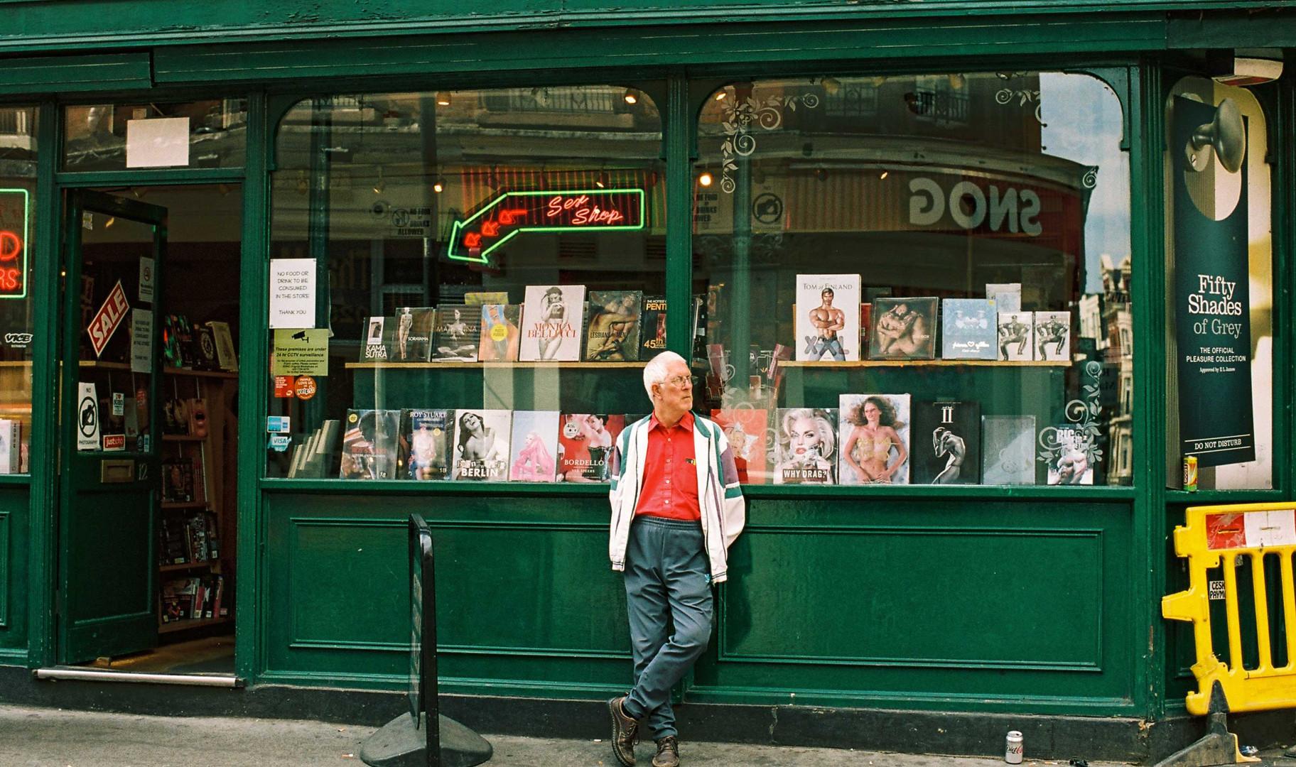 Sex Shop Books Guy