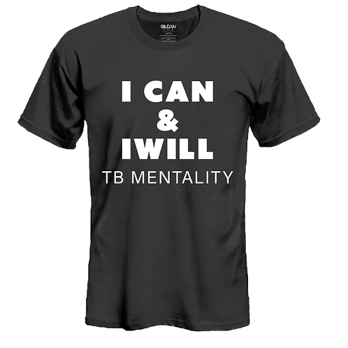 Toby Inc. I Can and I Will T-shirt Black