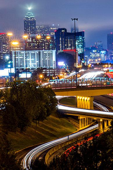 Atlanta at Night 2