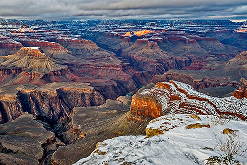 Snowy Grand Canyon 6