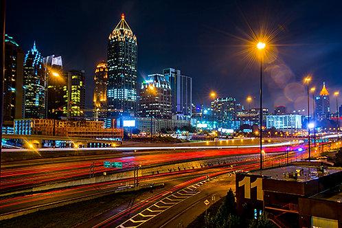 Atlanta at Night 4