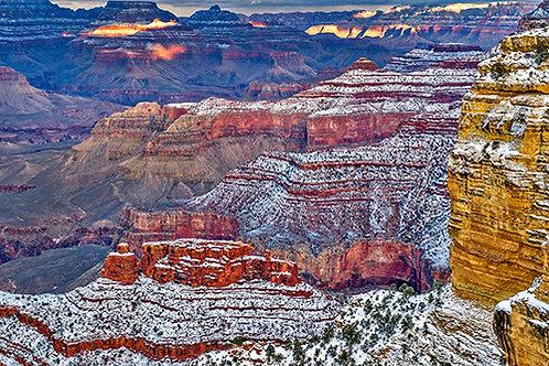 Snowy Grand Canyon 4