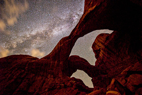 Double Arch at Night 1