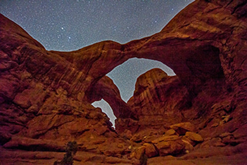 Double Arch at Night 4