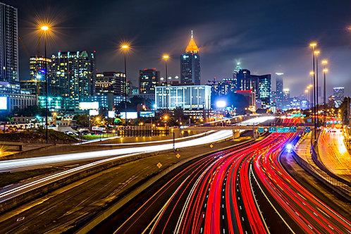 Atlanta at Night 3