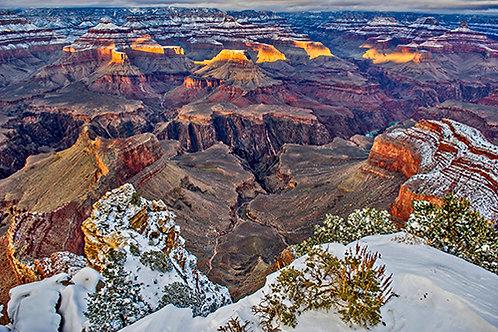 Snowy Grand Canyon 3