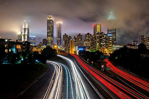 Atlanta at Night 5