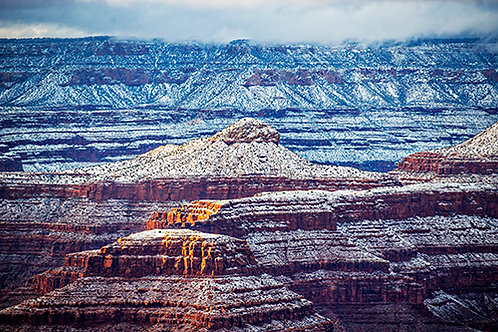Snowy Grand Canyon 1