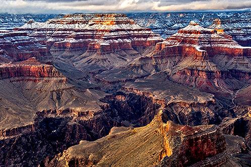Snowy Grand Canyon 5