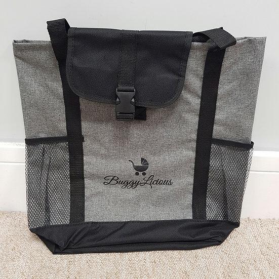 Spent over £75? FREE* thank you gift! Grey melange tote bag
