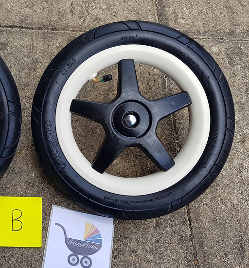 Bugaboo Donkey2/Donkey/Buffalo AIR FILLED back wheel - B GRADE