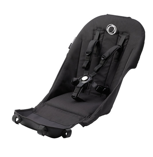Brand New Bugaboo Runner black seat fabric. Fits Donkey and Buffalo