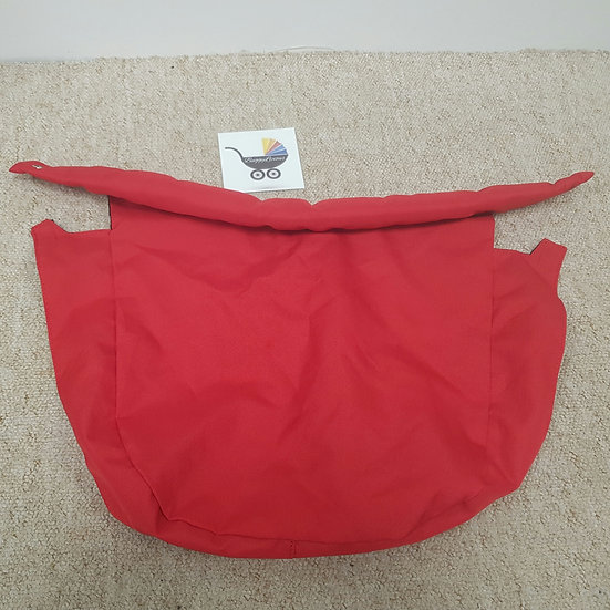 Baby Jogger City Select bassinet carrycot apron ONLY red
