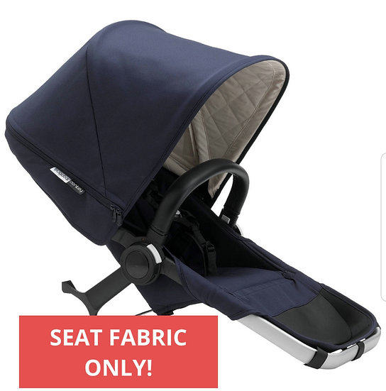 Brand New Bugaboo Donkey Navy Classic seat fabric ONLY!