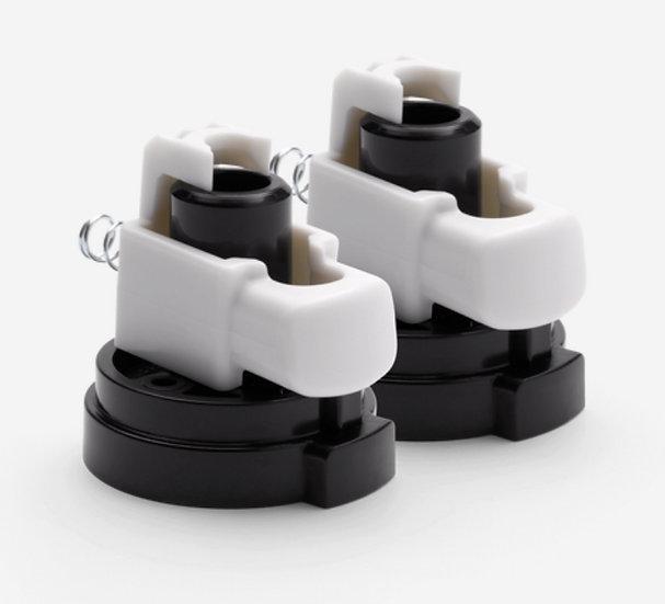 Brand New Bugaboo Fox Front Wheels Swivel Locks