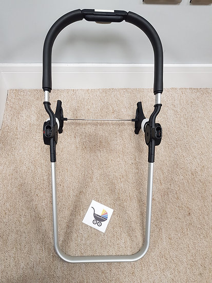 Brand New Bugaboo Buffalo/Runner seat/carrycot frame - silver
