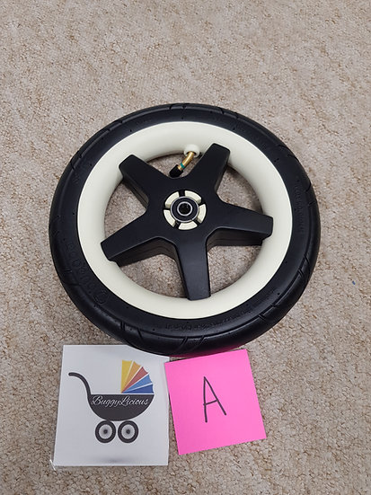 Bugaboo Donkey2/Donkey/Buffalo AIR FILLED front wheel ONLY! A GRADE