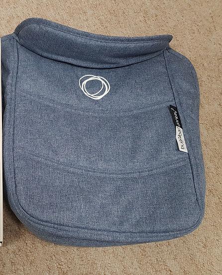 Brand New Bugaboo Donkey2 blue melange apron ONLY!