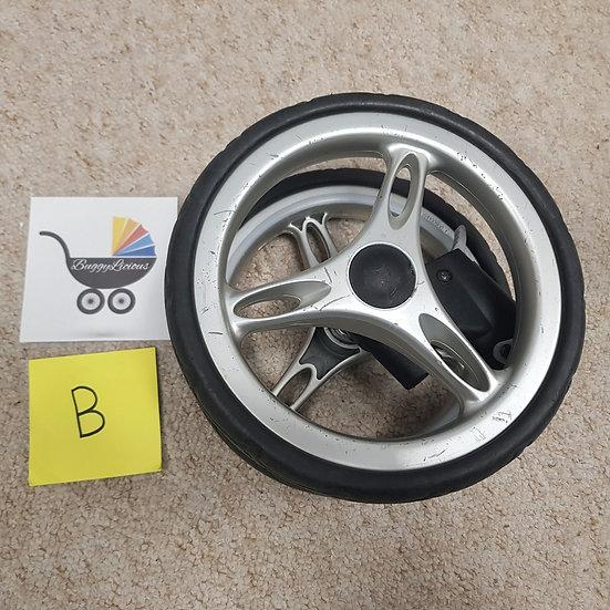 Baby Jogger City Mini front wheel - GRADE B - fits single and double