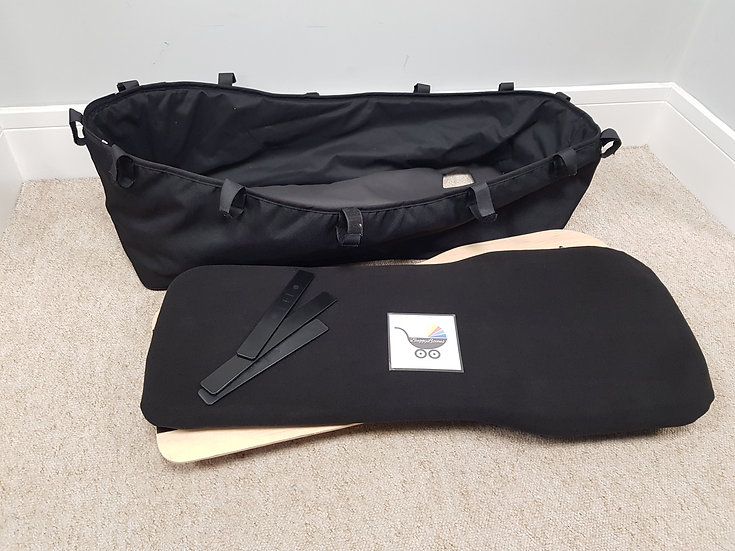 Bugaboo Donkey V1 black complete carrycot bassinet 2011-2014
