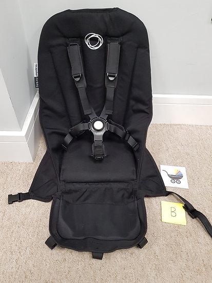 Bugaboo Donkey V2 seat fabric black - B GRADE