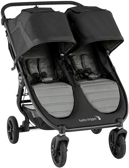 Baby Jogger City Mini GT2 Double Pushchair PLUS Raincover - Slate Grey RRP £708