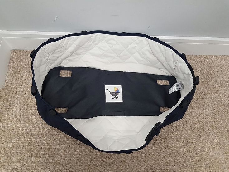 Bugaboo Donkey2 carrycot fabric ONLY navy blue classic