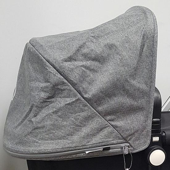 Brand New Bugaboo Cameleon 3/Fox sun canopy hood- grey melange
